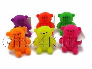 Light up flashing puffer bear