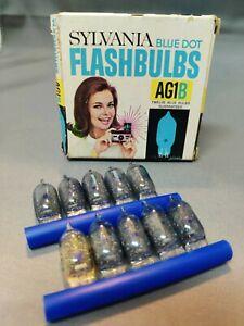 Sylvania Blue Dot Flash Bulbs AG1B (19 Bulbs)