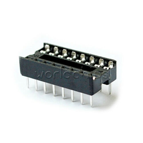 20PCS 16 Pin Integrated Circuit IC Sockets Adaptor Solder Type