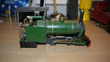 RARE LIVE STEAM 0 GAUGE  G SCALE 0-4-0 TANK LOCO - UNKNOWN MAKER, ACCUCRAFT ETC