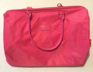 Details About Lipault Paris Womens Weekend Bag Medium Tahiti Pink Duffle Lady Plume