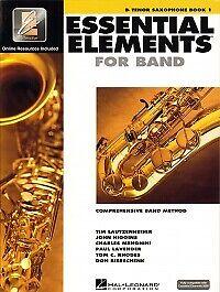 online ESSENTIAL ELEMENTS 2000 Book 1 Tenor Sax