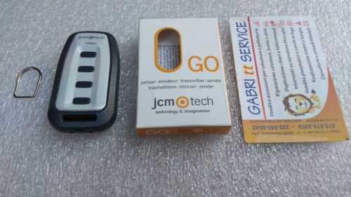JCM TECH GO4 APERIO fm 868.35 MHz A CODICE UNICO in retro ORIGINALE ROLLING CODE