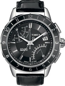 fe4e9615a Timex T2N495 Men's Watch SL Series Fly Back Chronograph 753048371150 ...