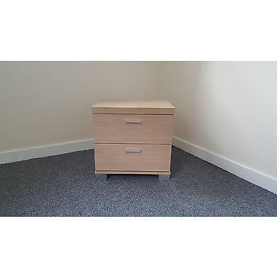 Tina 2 Drawer Bedside Cabinet