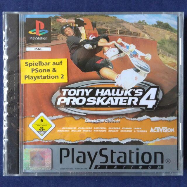 PS1 - Playstation ► Tony Hawk's Pro Skater 4 ◄ NEU | RAR | SEALED | DEUTSCH
