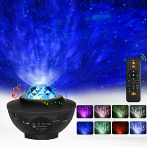 LED-Galaxy-Starry-Night-Light-Projector-Ocean-Star-Sky-Party-Speaker-Lamp-Remote