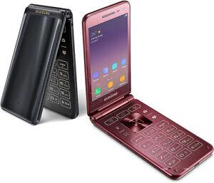 Samsung-Galaxy-Folder2-SM-G1650-Android-Big-Keyboad-Dual-SIM-4G-LTE-Flip-Phone
