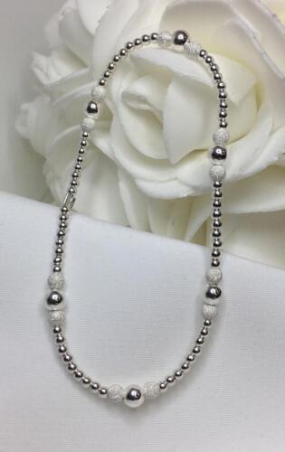 Sterling Silver Stardust Stretch Bracelet