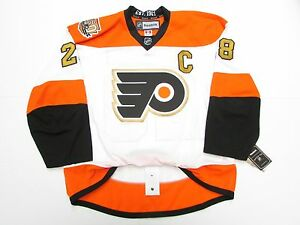 buy popular 96276 8a312 Details about GIROUX PHILADELPHIA FLYERS AUTHENTIC 50th ANNIVERSARY REEBOK  EDGE 2.0 JERSEY