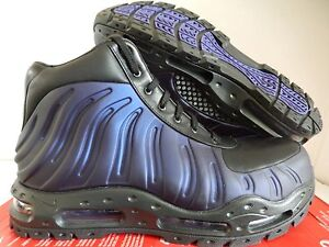 Sz 10 Laarzen zwart 500 Varsity Foamdome Paars Nike 843749 Max Foamposite Air zH8O8qCU
