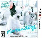 Nintendogs + Cats: French Bulldog & New Friends (Nintendo 3DS, 2011)