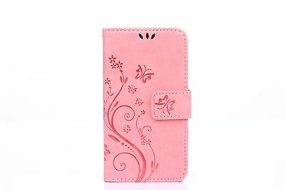 W/strap Flip Leather Wallet Cards Stand Case Cover For Apple iPhone 6 6S Plus SE