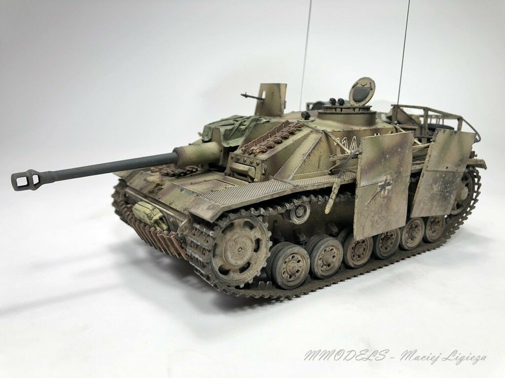 PzKpfw III - STUG III ausf. G -  1 35 - built and painted (Pro-Built)