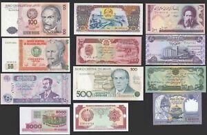 12 Stück Verschiedene Banknoten Welt - Bitte Ansehen (20735