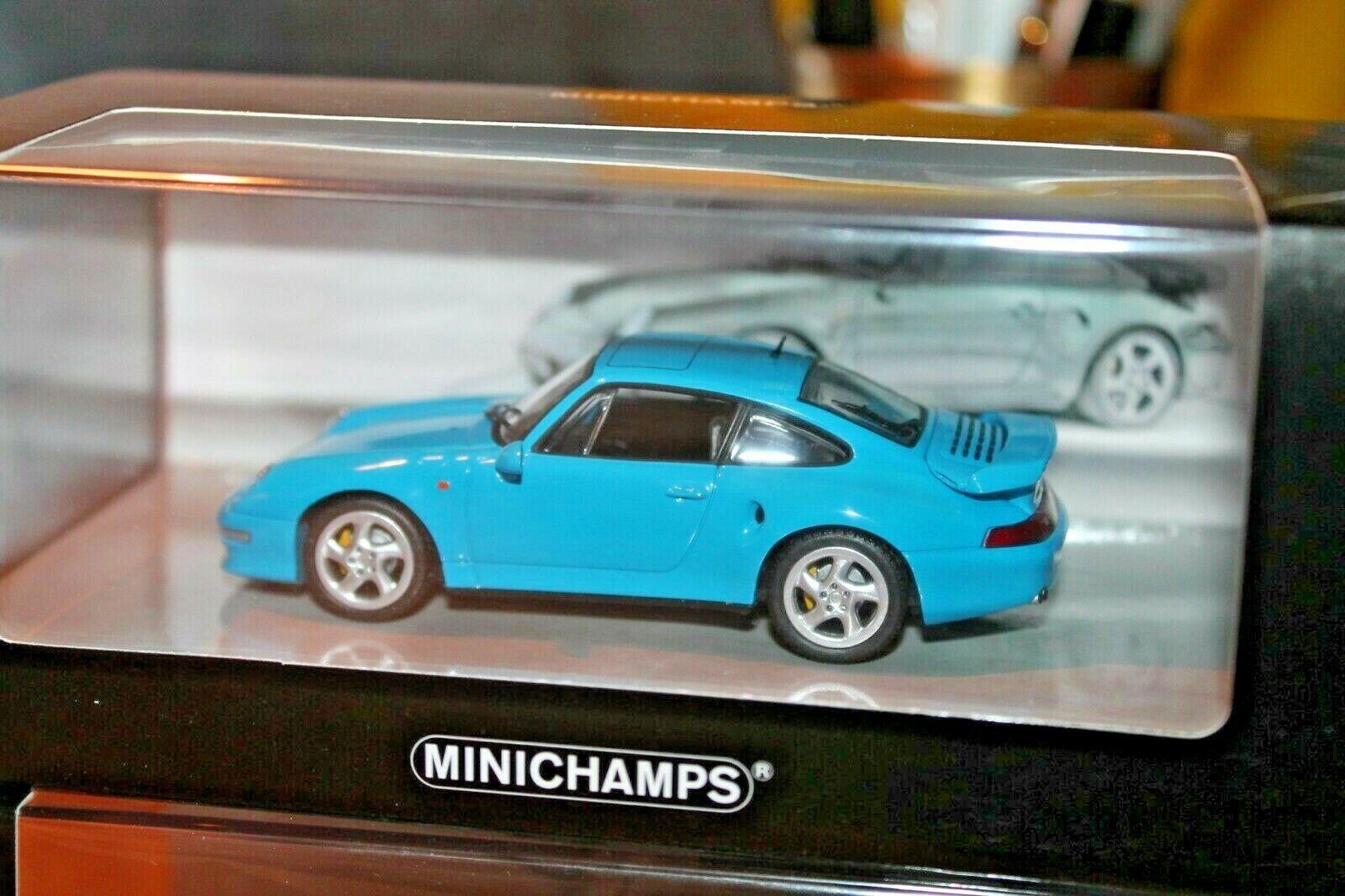 MINICHAMPS  PORSCHE 911 TURBO S 3.6 (993)  Neuf dans sa boîte  1 43  NOUVEAU