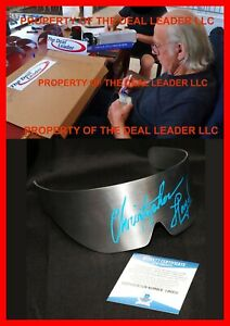 🔥 Christopher Lloyd Back To The Future 2 metal Signed Doc Glasses Prop Beckett