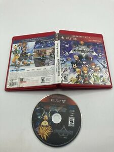 Sony PlayStation 3 PS3 Disc Case No Manual Tested Kingdom Hearts HD 2.5 Remix GH