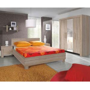 Attractive Das Bild Wird Geladen Schlafzimmer Set Schlafmoebel Komplett Cezar Mit  Matratze Kleiderschrank