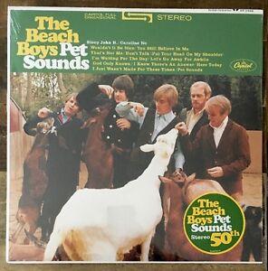 Beach-Boys-Pet-Sounds-LP-Vinyl-New-180gm-Stereo-50th-Anniversary-Edition