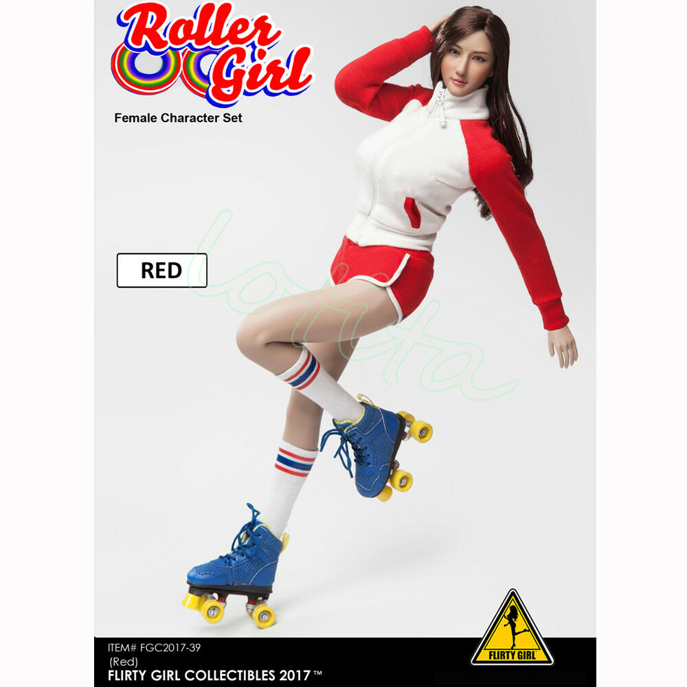 Flirty Girl 1 6 Female Character Set FGC2017 Roller Girl For 12  Figure Hot Toys