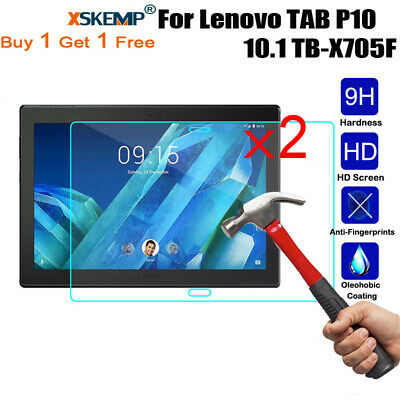 2Pcs Tempered Glass Screen Protector For Lenovo TAB E10 TB-X104F 10.1 Tablet New