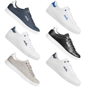 2ad70a116c35ce Das Bild wird geladen Ellesse-Herren-Sneaker -Freizeit-Schuhe-Turnschuhe-weiss-blau-