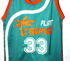 8fa501110659 JACKIE MOON  33 FLINT TROPICS - SEMI PRO MOVIE JERSEY MOON ...