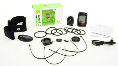 Bryton Rider 310T GPS Cycling Computer w// Cadence /& Heart Rate
