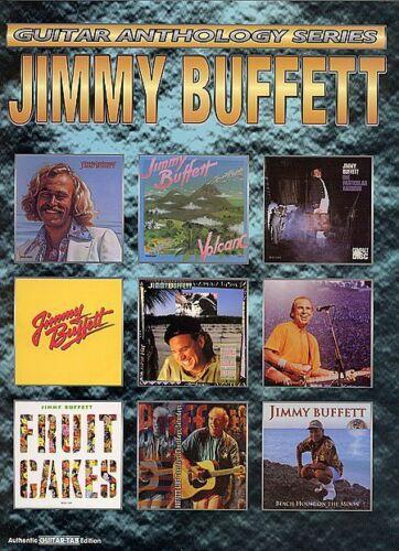 JIMMY BUFFETT GUITAR ANTHOLOGY TAB MUSIC SONG BOOK NEW