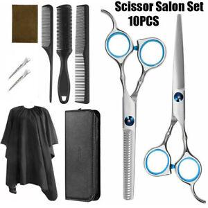 Professional Hair Cutting Thinning Scissors Salon Barber Shears Hairdressing Set