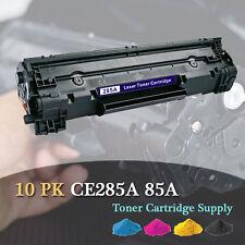 10PK CE285A 85A Toner Cartridge For HP P1102 P1102w M1130 M1132 M1134 M1136