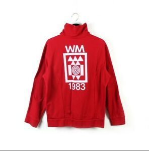 1983 adidas Originals vintage track jacket WM air gun shooting Yugoslavia M L