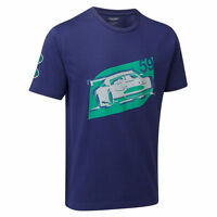 Aston Martin Racing Car T-shirt Blue