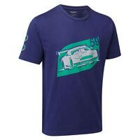 Aston Martin Racing Car T-shirt Blue