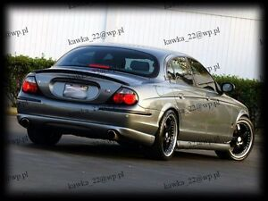 Jaguar S-Type R Look 1999-2004 Rear Trunk Boot Lip Spoiler [PRIMED & QUALITY]