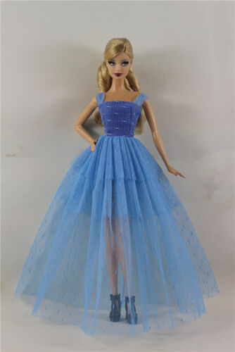 Blue Fashion Royalty Princess Dress//Clothes//Gown For 11.5in.Doll
