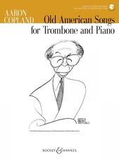 Old American Songs Trombone and Piano Chamber Music Book and Audio NEW 048023412