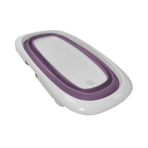 Baby Bath Time Foldable Splash /& Play Lavender Purple Transportable BathTub