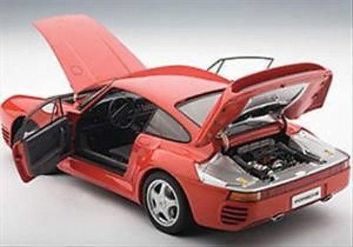 1 18 Autoart - Porsche 959 - Red