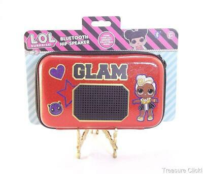 Brand New LOL Surprise Glam Bluetooth Hip Speaker /& Carrying Case to Store Dolls