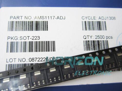 10Pcs AMS1117-ADJ AMS1117 LM1117 1A SOT-223 Voltage Regulator TOP