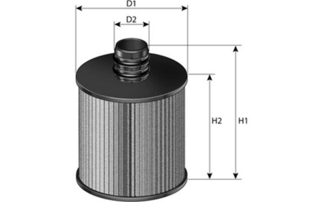 PURFLUX Filtro de aceite L1050