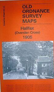 OLD Ordnance Survey Maps Alverthorpe Yorkshire 1905 Godfrey Edition Offer