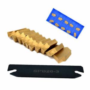 Spb26-3-Parting-Grooving-Cut-off-Blade-Tool-Holder-110-26mm-High-Hardness-Blad
