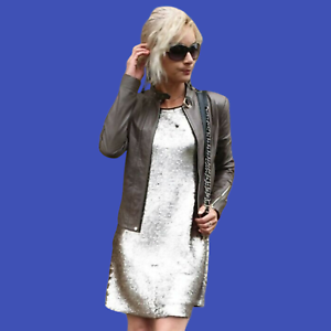 ZARA-Metallic-Silver-Sequinned-Party-Midi-Dress-Woman-Authentic-BNWT-M-0787-225