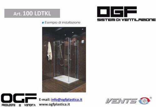 VENTS LD-TKL 100 VENTILATORE OGF VENTILAZIONE MECCANICA CONTROLLATA VMC