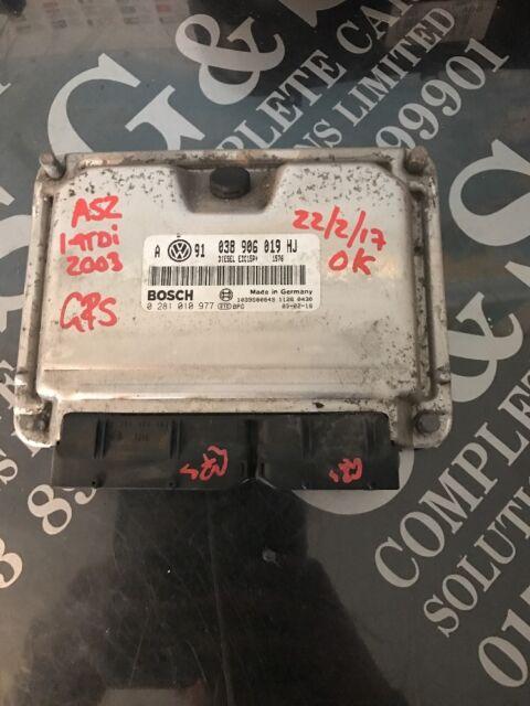 VW Passat MK5 1.9 TDI AFN Engine Control Unit ECU 038 906 018 P 0 281 001 720