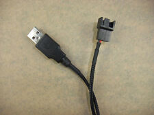 Fan 3-Pin 3pin /4-Pin 4pin A male  to USB Adapter Cable Wire 387