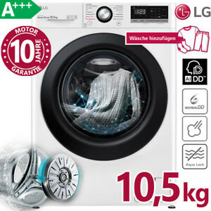 LG-Waschmaschine-A-10-5-kg-1400-U-min-Direktantrieb-Dampf-Frontlader-AI-DD
